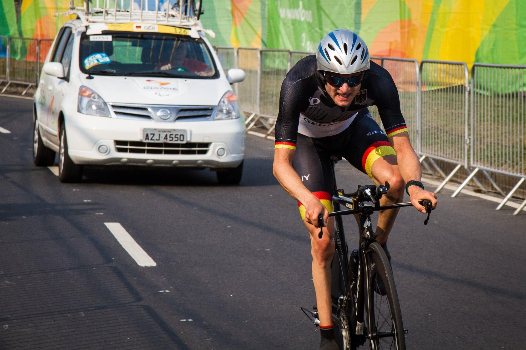 Zeitfahren Rio Paralympics