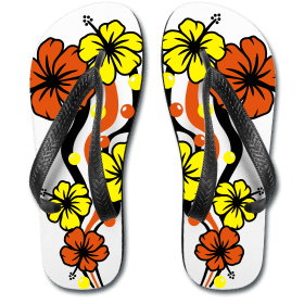Flower Flipflops