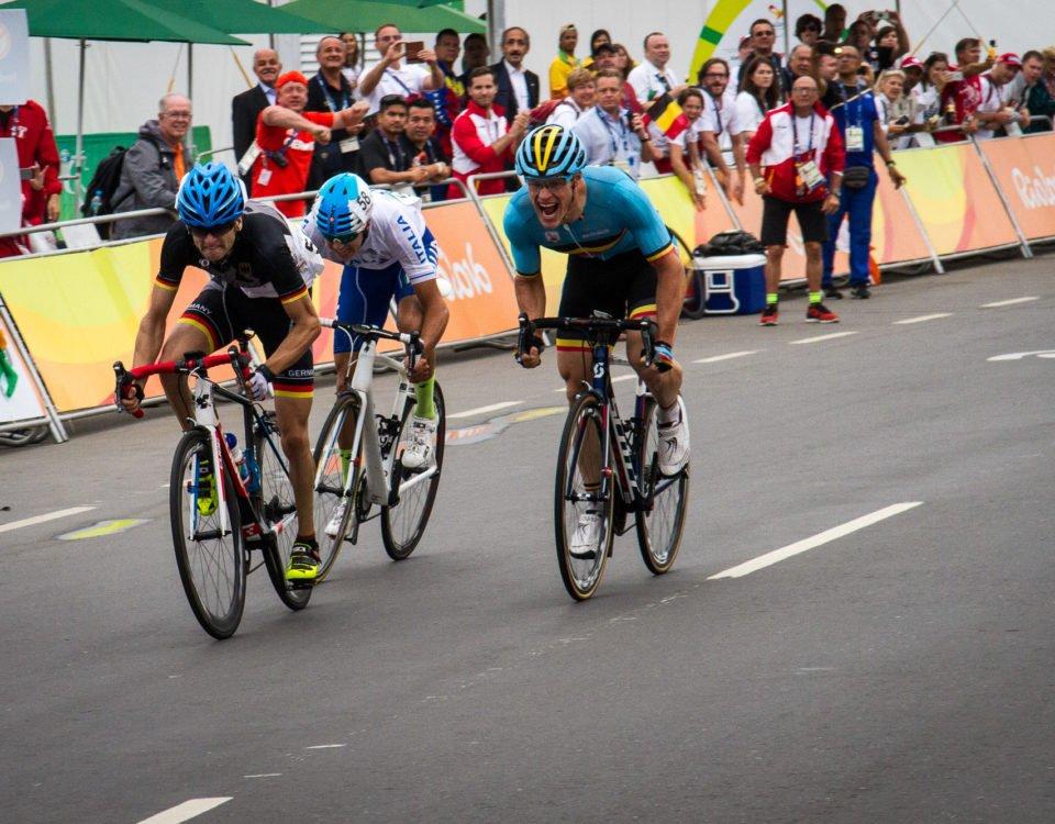 Paralympics Radrennen Sprint