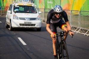 Steffen Warias Zeitfahren Rio