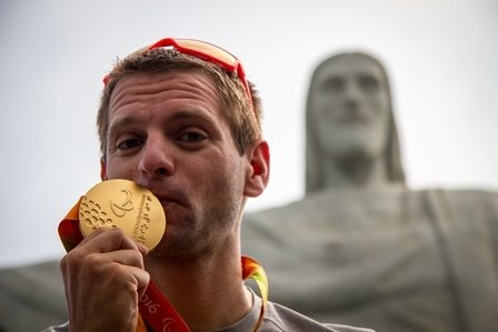 Steffen Gold Rio Paralympics