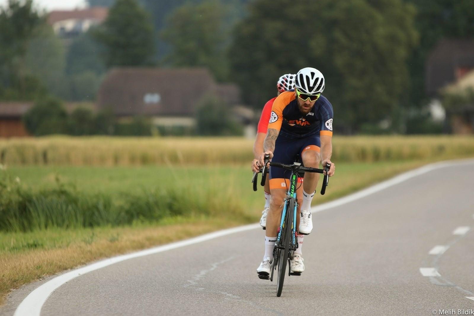 Radsportler Thierry Henz