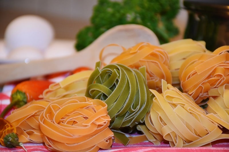 Pasta Nudeln Kohlenhydrate Ernährung Sportler